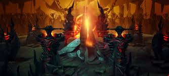 the dire base dota 2 3d art games background 131971 hd