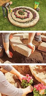 with this diy spiral garden gravity allows water to drain freely from the top of the spiral and seep to all layers creating a dry zone at the top and