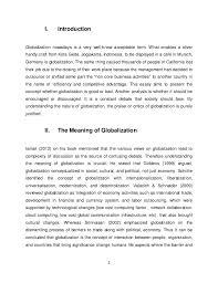 essays on globilization  globalization essays and papers 123helpme com