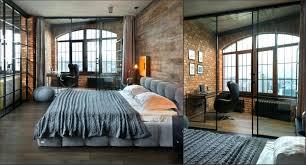 spacious loft style studio home interior design kitchen and 2 workplace bedroom loft studio apartment design