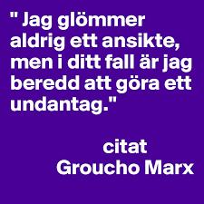 Bildresultat för groucho marx citat