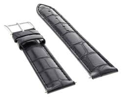 ewatchparts 22mm leather watch strap band for 43mm invicta signature ii 7282 7345 black com