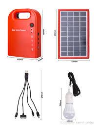 China Hot Sale Solar Panels Price Solar Home Fan Solar LED Light Solar Led Lights For Homes