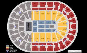 Pepsi Center Seating Chart Concert Fedex Forum Seating Chart With Seat Numbers Best Of Pepsi