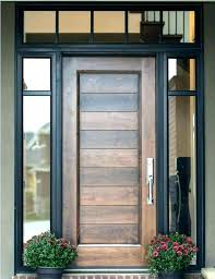 front door with side panels doors glass best exterior wood entry