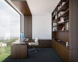 modern home office design ideas. design ideas for a midsized modern study room in melbourne with white walls home office n