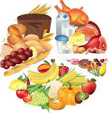 Pie Food Chart Food Pie Chart Illustration Stock Illustration
