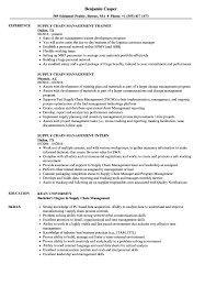 Supply Chain Management Resume Samples Velvet Jobs