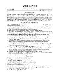 Resume Samples Graduate School