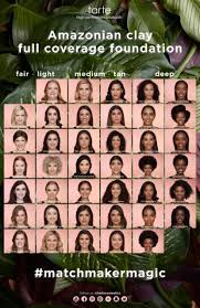 Tarte Amazonian Clay Color Chart Tarte Cosmetics Expands Their Complexion Range Tnc Network