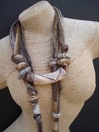 Avis Gardner With a crip white cotton shirt. | Polymer clay jewelry,  Ceramic jewelry, Contemporary fashion jewelry