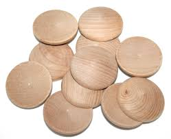 Dutch Game With Wooden Discs 100 Various sized Wooden Round Domed Circles Craft Wood Circles 92