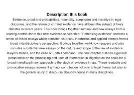 rethinking evidence exploratory essays william twining   rethinking evidence exploratory essays william twining pdf online