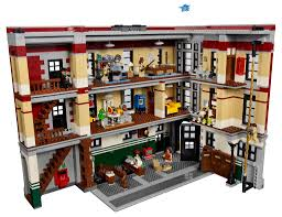 Small Picture LEGO Ghostbusters Firehouse HQ Box Art Interior Minifig Pictures
