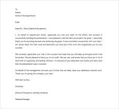 Printable Employee Appreciation Letter MS Word Format