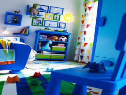 Kids Bedroom Decoration Lovely Boys Bedroom Ideas With Blue Wall Contemporary Bedroom