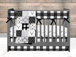 baby boy crib bedding set woodland