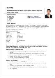Logistic Coordinator Resume Sample Resume Transport Coordinator