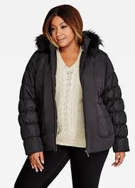 Buy Short Quilted Puffer Coat Black - Jackets & Short Quilted Puffer Coat, Black ... Adamdwight.com
