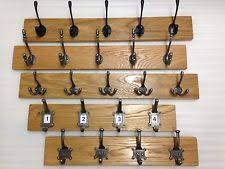Oak Coat Racks Oak Coat Rack Storage Solutions eBay 14