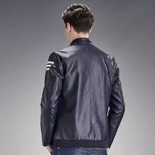 men s leather jacket short slim fit new brand upto 65 off order now
