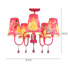 full size of lighting endearing kids crystal chandelier 14 fashion children modern cartoon girl princess prink