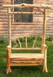 Cedar Coat Rack Furniture Rustic Varnished Birch Wood Bench And Mounted Coat Racks 43