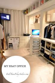 ebay office. Http://fulltimeebayseller.com/my-ebay-room/ My Ebay Office