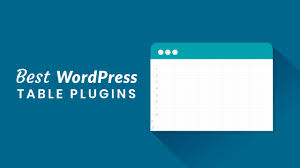 7 Best Wordpress Table Plugins 2019 Athemes