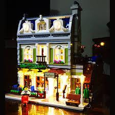 lego lighting. LED Light Up Kit (only Light) For Lego 10243 And 15010 Creator Parisian Building Lighting