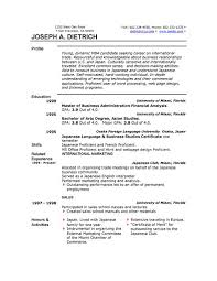 Standard Resume Template Microsoft Word Ms Resume Baskanidaico