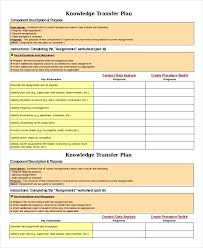 Transition Plan Template Word Role Transition Plan Template Plan Templates Word Free