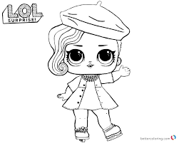 Lol Surprise Coloring Pages Series 2 Posh Free Printable Coloring