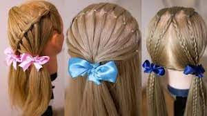 На коротких и непослушных детских волосах можно заплести прически для девочек, предполагающие полностью собранные волосы в гульку или пучок, будут также отличным вариантом. Ochen Prostye Detskie Prichyoski Prichyoska Za 10 Minut Hair Tutorial Youtube