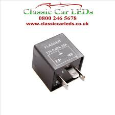 12v Electronic Indicator Flasher Relay With Oe Clicking Sound