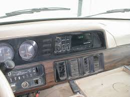 dodge ton van c i d engine retro electronics 1989 dodge vandashboard view 2