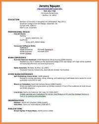 Resume Templates For First Job. Resume Templates For First Job