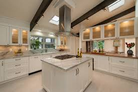 lighting in the home. The Open Beam Ceiling Is A Consistent Detail Throughout Home, Which Can Make Lighting Challenge. To Ensure Adequate In Kitchen, Home