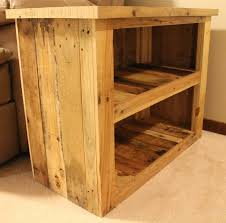 reclaimed wood pallet bench. Reclaimed Wood Pallet Storage Bench D