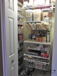 transforming a hall closet into a pantry closet