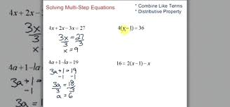 steps to solving equations math how to simplify solve multi step equations in algebra a math