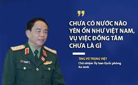 Image result for Chưa có nước nào yên ổn như Việt Nam, vụ việc Đồng Tâm chưa là gì