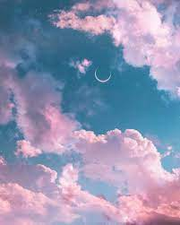 moon, aesthetic and view - image ...