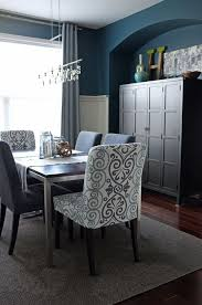 teal dining room chairs modern furniture awesome nina oak fabric with regard to 4