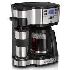 Shop for keurig coffee pots online at target. Hamilton Beach 2 Way Coffee Maker With 12 Cup Carafe Pod Brewing Black Stainless 49980z