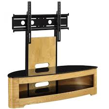 Tv Stand Jual Jf209 Ob Lcd Tv Stands Oak Black Glass 2 Shelf Tvs 40 Up To 55