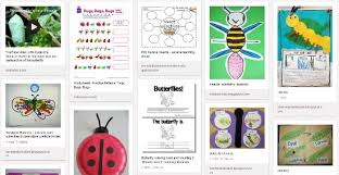 erfly caterpillar theme insects theme activities teaching ideas