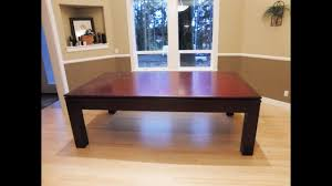 Combination Pool Table Dining Room Table Pool Table Dining Table Combo Youtube