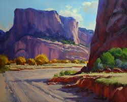 how to use good reference photos for landscape painting