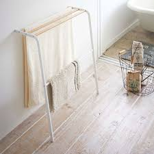 Bath towel hanger Unusual Zola Tosca Leaning Bath Towel Hanger Zola
